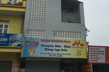 Bán nhà mặt đường Vân Nội DT 53,6m2 mặt tiền 5,36m