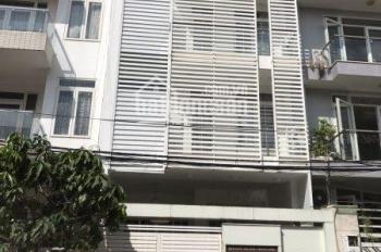 Bán nhà 5.7 x 13m, trệt, 4 lầu nhà mới khu Kiều Đàm, hẻm xe hơi 8m giá 9 tỷ, LH Vinh 0909491373