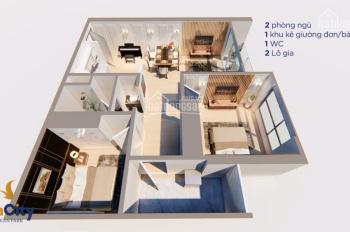 Bán căn 2PN tầng đẹp, view đẹp giá sốc 1,6 tỷ/căn Vinhomes Ocean Park