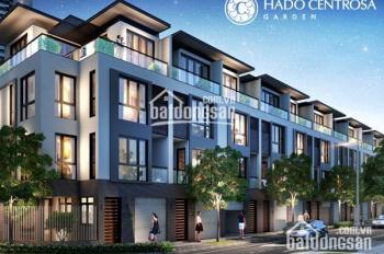 Bán biệt thự khu Hà Đô, đường 3 Tháng 2, Quận 10, DTKV: 5.5m x16m, kết cấu: 3 lầu