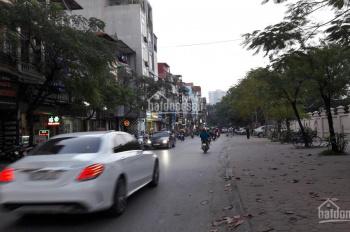 Bán đất phố Doãn Kế Thiện, Mai Dịch, tiện xây chung cư mini, 372m2, MT 12m, hậu 18m, giá 28 tỷ