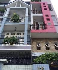 Nhà HXH Hoàng Hoa Thám (4.5x15m) 1 trệt 3 lầu thang máy 7P, giá 9 tỷ TL 0907.543.410 gặp Vũ