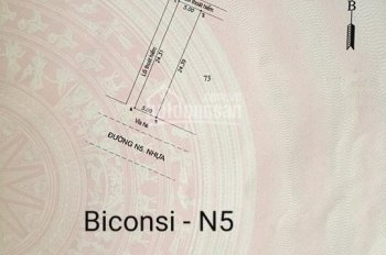 Bán 7 lô đất N5, N10, D17, N20, N22 - KDC Biconsi Tân Bình, mệnh danh Đà Lạt, Bình Dương