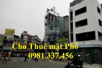 Cho thuê nhà mặt phố Nguyễn Chí Thanh, 400m2, MT: 11m, 60tr/th Quý mặt phố 0981337456