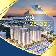 Bán căn hộ Q7 Sài Gòn Riverside Complex, ngay công viên Mũi Đèn Đỏ, Đào Trí, Q7. Giá 32tr/m2