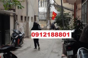 Nhà Nguyễn Thái Học gần BV ĐK Hà Đông 4 tầng*25m2 giá 1.85 tỷ. 3 mặt đường, ngõ thông, ô tô đậu cửa