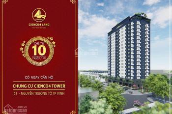 Căn hộ Cienco4 Tower - Vị trí đắc địa TP Vinh - Chiết khấu 7% - Hỗ trợ vay ngân hàng
