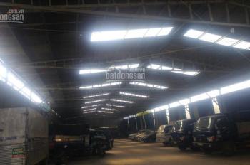 Cho thuê nhà xưởng mới xây dựng. DT 20 x 60m = 1200m2, đường xe container