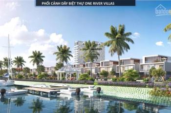 Khách đi nước ngoài cần nhượng căn One River vị trí vip sát quảng trường ánh sáng, LH 0933371560
