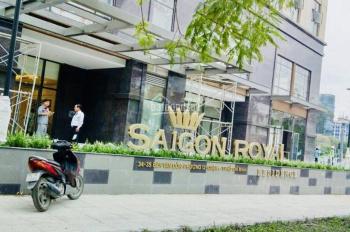 Bán gấp căn hộ Saigon Royal, 81m2, giá 5 tỷ 050 view hồ bơi, LH 0899466699