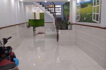 Bán nhà đường Phan Văn Khoẻ, Q6. Nhà mới 1 trệt, 1 lầu dọn vào ở ngay, giá 4 tỷ