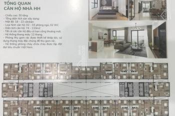 Bán căn hộ full nội thất. Chung cư thương mại HH 43 Phạm Văn Đồng, Cổ Nhuế