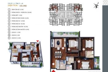 Gold Tower CK 6-8% DT: 91.6m2 - 130.1m2. Ra mắt shop thương mại - căn hộ dịch vụ CĐT: 0981152882