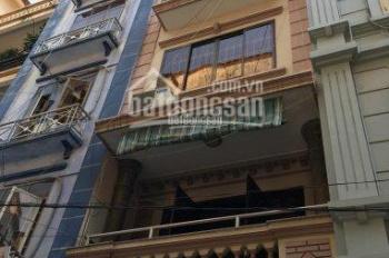 Cho thuê nhà ngõ 9 phố Trần Quốc Hoàn. DT 55m2 x 5 tầng 1 tum, ngõ 8m, 18 triệu/th