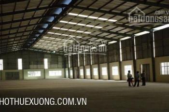 Cho thuê nhà xưởng tại Bắc Giang, trong KCN Đình Trám DT 7515m2 giá tốt (có cắt nhỏ)