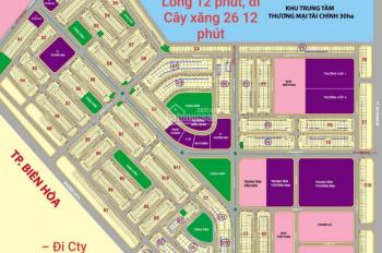 Bán đất và nhà KDC Lavender city Vĩnh Cửu. 90m2 giá 750 triệu. Sổ riêng thổ cư 100%. LH: 0962766616