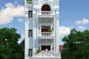 Bán toà nhà văn phòng mặt phố Huỳnh Thúc Kháng DT 170m2 MT 9m x 6T. Đang cho thuê (10USD) 230 tr