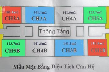 Chủ đầu tư bán cắt lỗ CC CT4 Vimeco, Nguyễn Chánh. DT 101, 123, 141, 148(m2), 29tr/m2, 0904897255