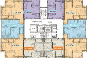 Cần bán căn hộ 49m2, 2 phòng ngủ 1 vệ sinh chung cư PCC1 Hà Đông. Liên hệ: 0936.446.556