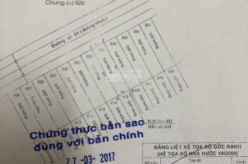 Bán đất 5x20m=100m2 đường 19, phường An Phú, quận 2