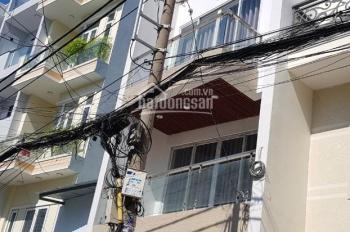 Nhà hẻm xe tải 1 sẹc Phan Văn Trị gần Emart cách mặt tiền 20m 3 lầu 6PN