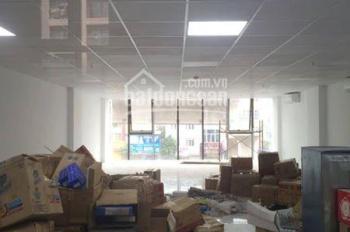 Cần cho thuê văn phòng hạng B mặt phố 116 Trường Chinh Đống Đa 155m2 thông sàn mặt tiền 8m