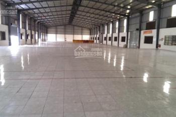 Cho thuê kho bãi, nhà xưởng Bến Lức, Long An 5200m2 trên đường Mỹ Yên, Tân Bửu, giáp TP HCM