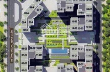 Bán căn hộ Mandarin Garden DT 114-266m2 hoàn thiện hoặc bàn giao thô - Giá 45tr/m2 - LH 0904717878