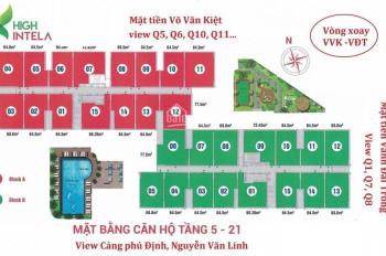 Cần bán căn góc số 12, diện tích 64.5m2, hướng đông nam LH chính chủ 0909 790547