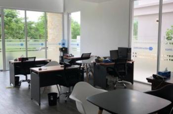 Cho thuê nhà nguyên căn MT Nguyễn Hữu Thọ (Đối diện dự án GS Metrocity), kết hợp nhà ở và văn phòng