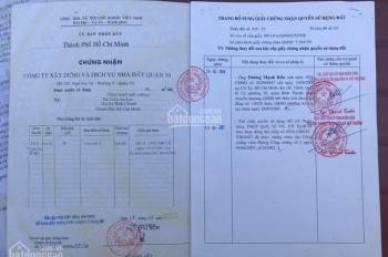 Bán lô đất sát nách ủy ban Q. Bình Tân, 4x20m thổ cư 80m2 đường 10m, giá 4.4 tỷ; LH: 0907.067.056