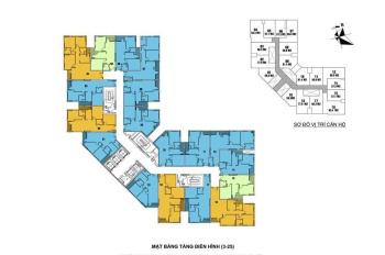 Bán suất ngoại giao căn góc 83m2 Mipec Kiến Hưng giá 1,5 tỷ nhận nhà ngay. Full nội thất