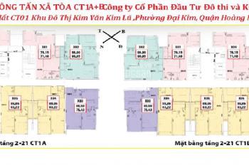 Cần tiền bán gấp chung cư Thông Tấn Xã, căn 1608 tòa B, DT 90.05m2, giá 18.5tr/m2. LH 0964320600