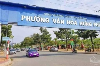 Nền KDC Hưng Phú 1, giá tốt đầu tư. Liên hệ: 0985 488 108