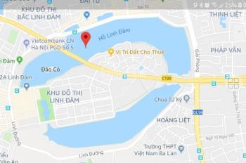Cho thuê đất tại bán đảo Linh Đàm, 65 m2, 7 tr/tháng