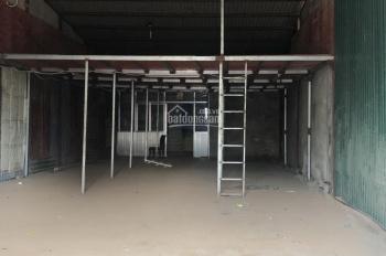 Cho thuê 200m2 kho mặt đường Tam Trinh, điện 3 pha