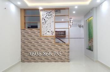 Nhà bán đúc 4 tấm DT 4.8m x 12m, hẻm 5m, thông Phan Huy Ích, giá 5 tỷ