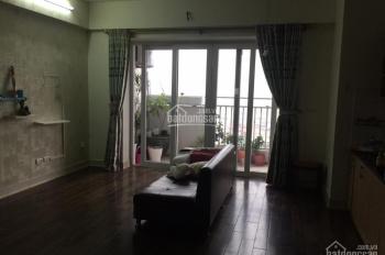 Cho thuê căn hộ chung cư 165 Thái Hà, 90m2, 3 phòng ngủ đồ cơ bản, LH: 0387847288