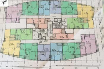 Chính chủ bán căn 1511 chung cư CT2 Yên Nghĩa, DT 69.85m2, giá bán 13tr/m2, SĐCC. LH 0981117158
