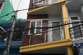 Bán nhà hẻm đường Nguyễn Văn Luông, Q. 6, 2 lầu, 2 phòng, giá 4.3 tỷ (TL)