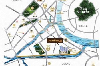 Căn hộ CC quận 4, 3 mặt sông, LK phố đi bộ Nguyễn Huệ Q1, giá chỉ 55tr/m2