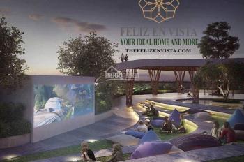 Feliz En Vista, 85m2 2PN + 2WC, tháp Cruz view nội khu, giá 4 tỷ bàn giao hoàn thiện. LH 0932009007
