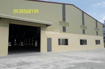 Cho thuê nhà xưởng Trần Đại Nghĩa, Bình Chánh: 1000m2, 2000m2, 3000m2, 6000m2, 8000m2.  0938568199