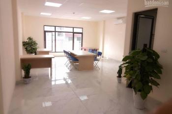 Cho thuê VP 151 Vương Thừa Vũ, DT 35m2 55m2 MT 6m, full dịch vụ, mới xây, SD ngay, LH: 0917.531.468