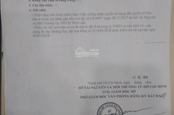 Cần tiền trả nợ ngân hàng bán gấp lô đát thổ cư 100% đường Hương lộ 2, Q. Bình Tân, 4 x 15m