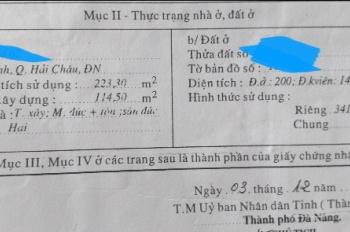 Đất kiệt Ông Ích Khiêm, xây homestay hoặc phân lô, cách biển Nguyễn Tất Thành 500m