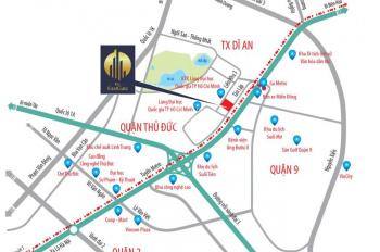 Căn hộ cạnh Suối Tiên và Làng Đại Học, 2PN, 2WC, 65m2, giá 1,4 tỷ, CK 7%