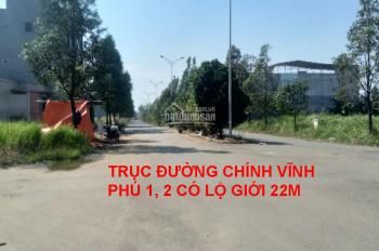 Bán 2 lô đất KDC Vĩnh Phú 1, Thuận An, Bình Dương DT (6x20)m đã có sổ, thủ tục nhanh