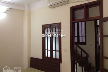 Cho thuê nhà riêng 5 tầng x 42m2 cách phố Quang Trung 10m, tiện làm VP, giá 15tr/tháng