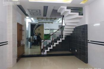 Cho thuê nhà nguyên căn hẻm 5m 1 sẹc Phạm Văn Chiêu, DT: 5x15m, 2 lầu 3PN